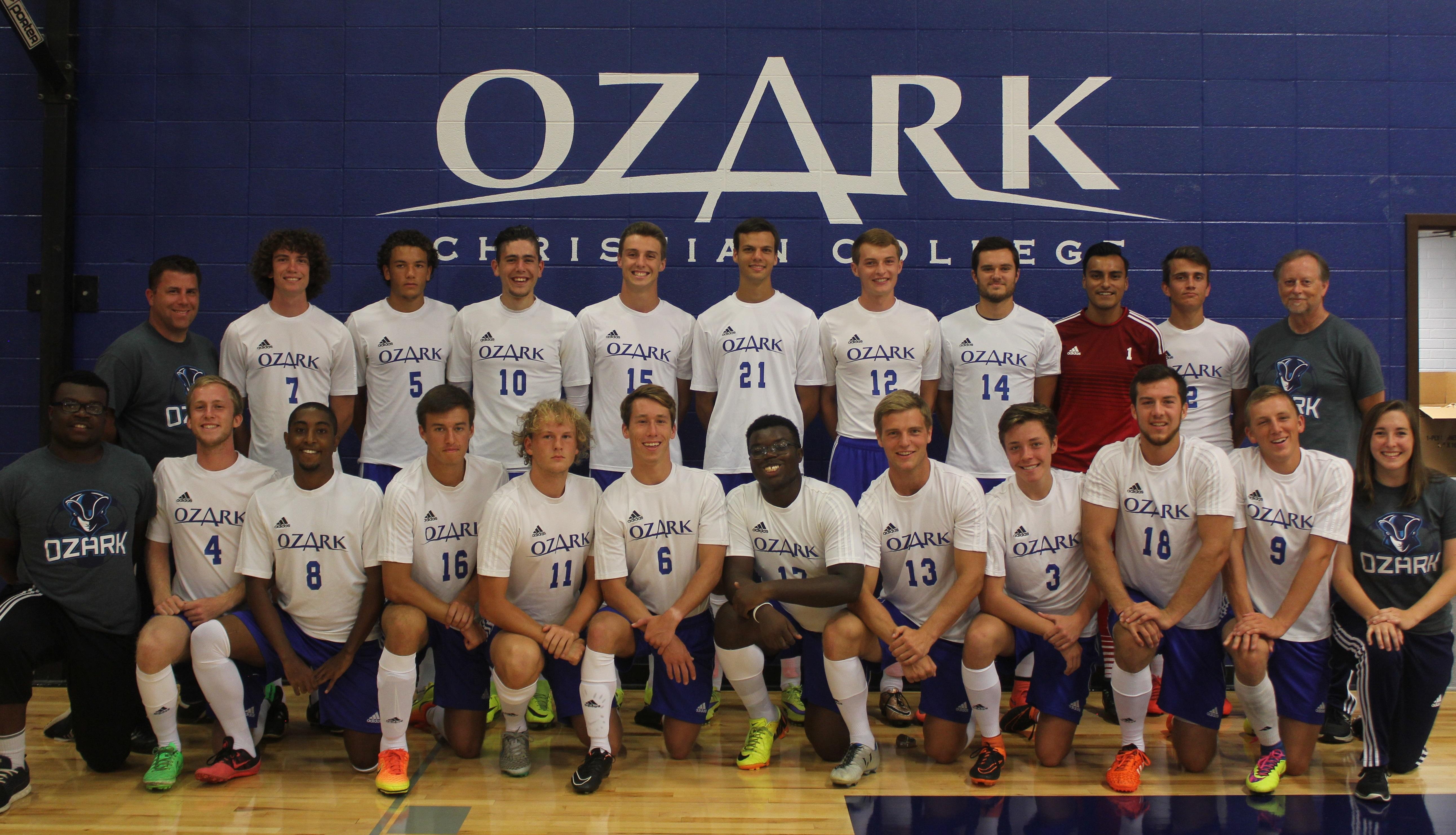 Men's Soccer Team 2015